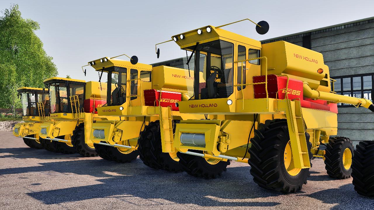 New Holland TR 5 & 6 series