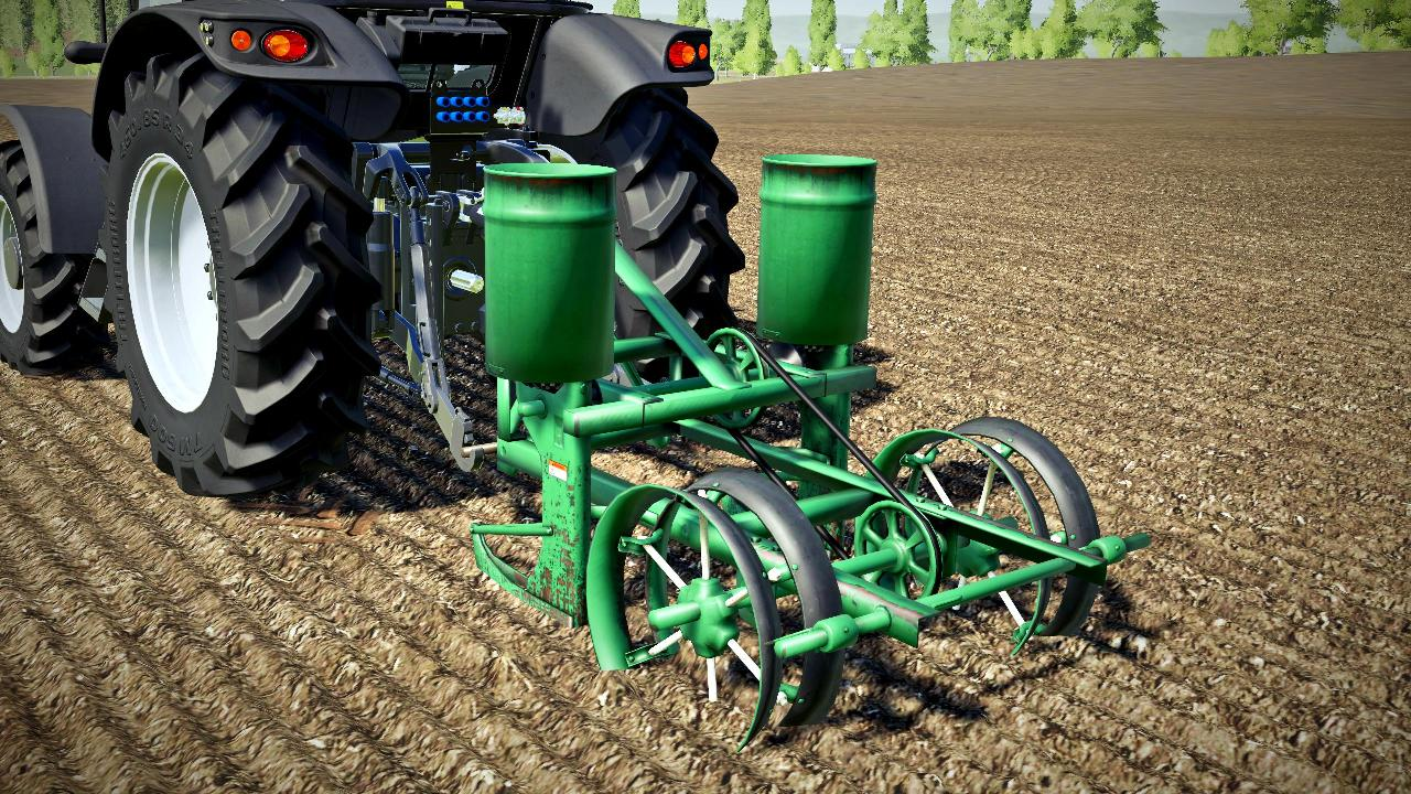Old 2-row seed drill
