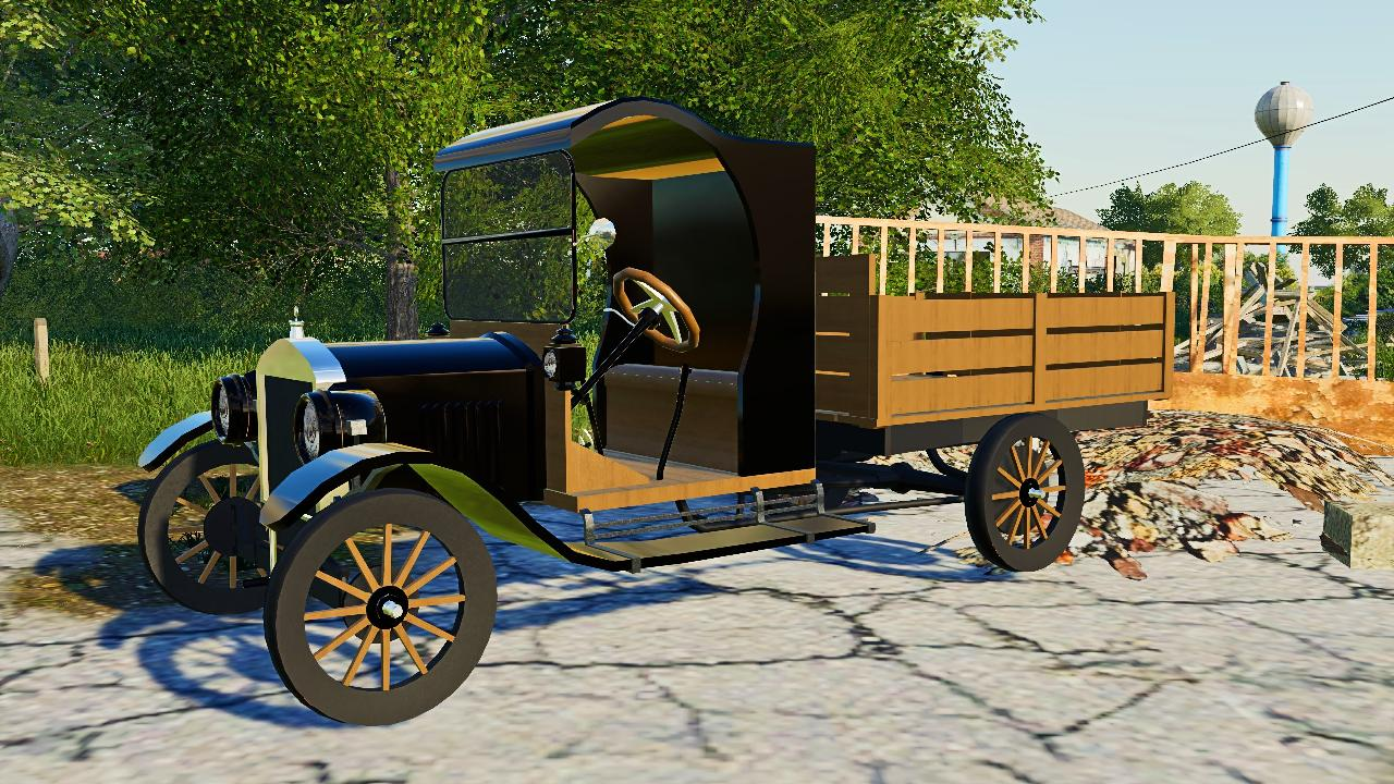 Old Truck - Model T Flat Bed