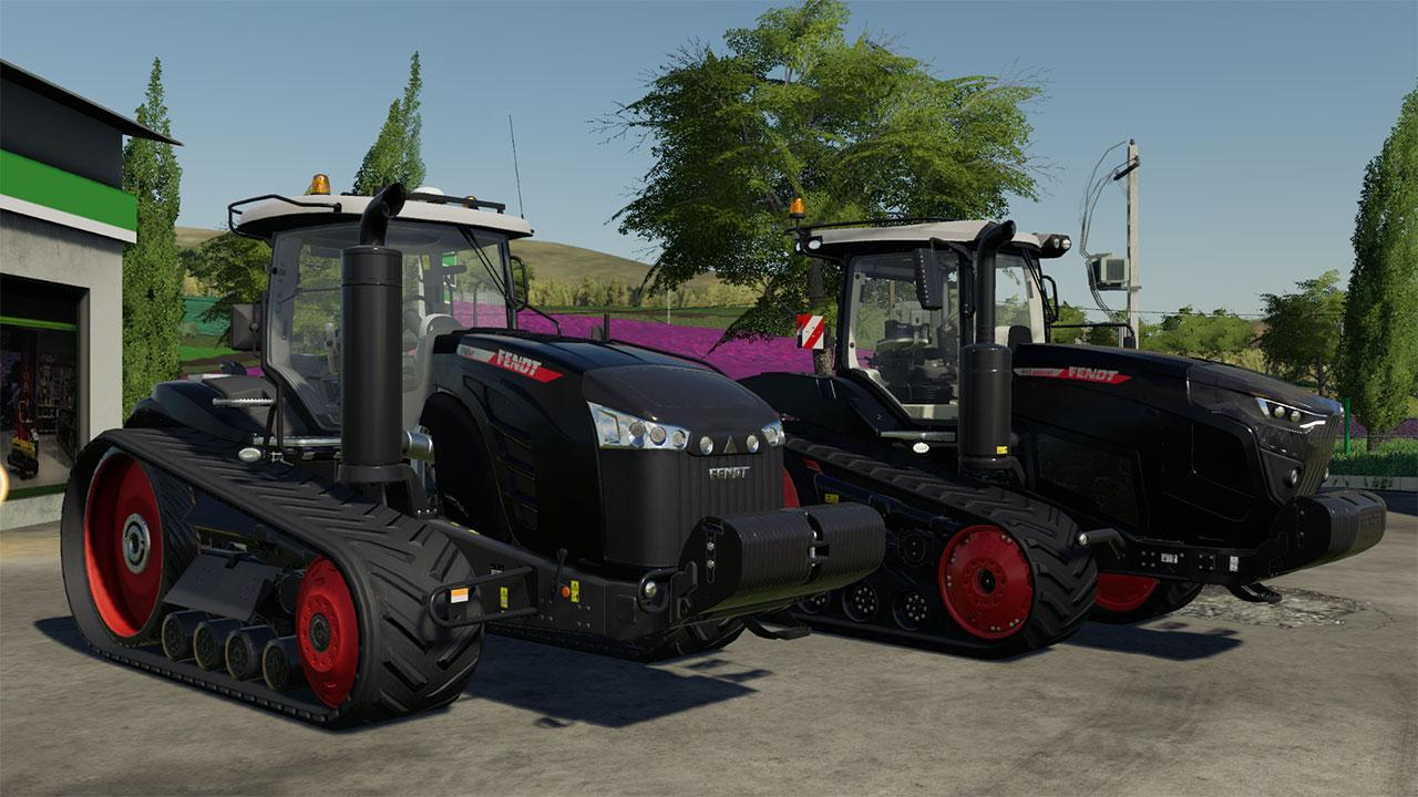 Pack Fendt 900 MT Black et 1100 MT Black