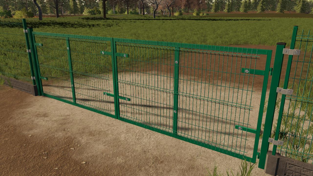 Panel Fence And Gates