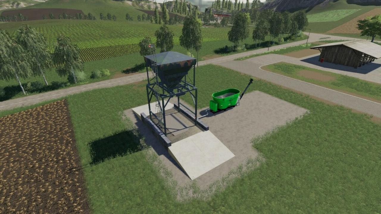 Silo fourrager placable FS19