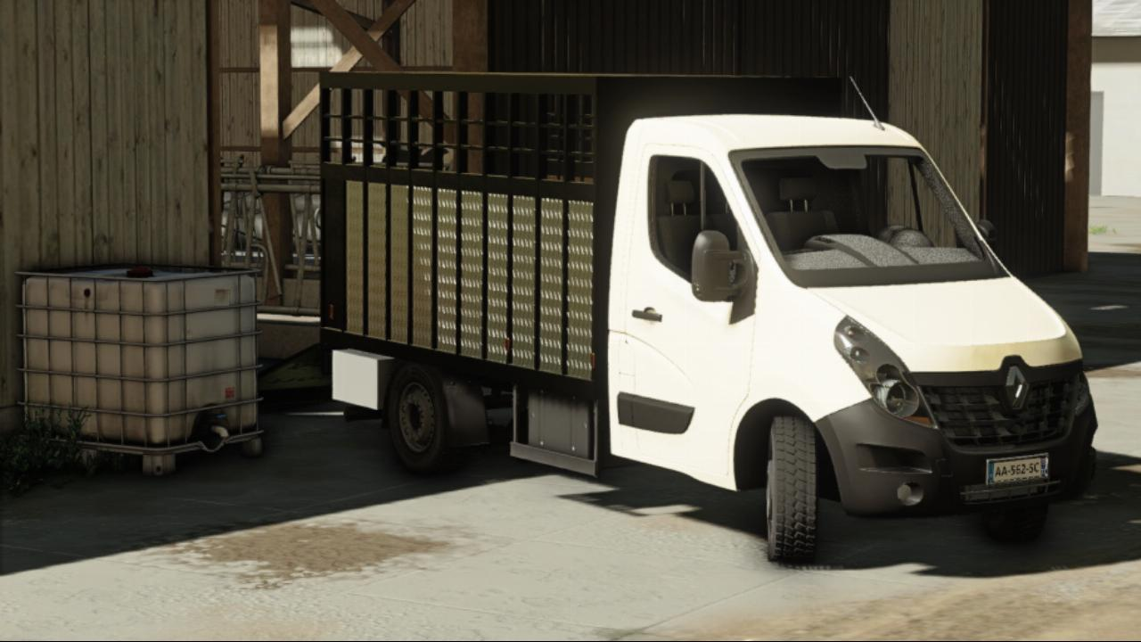 Renault Master Cattle trailer of 2018