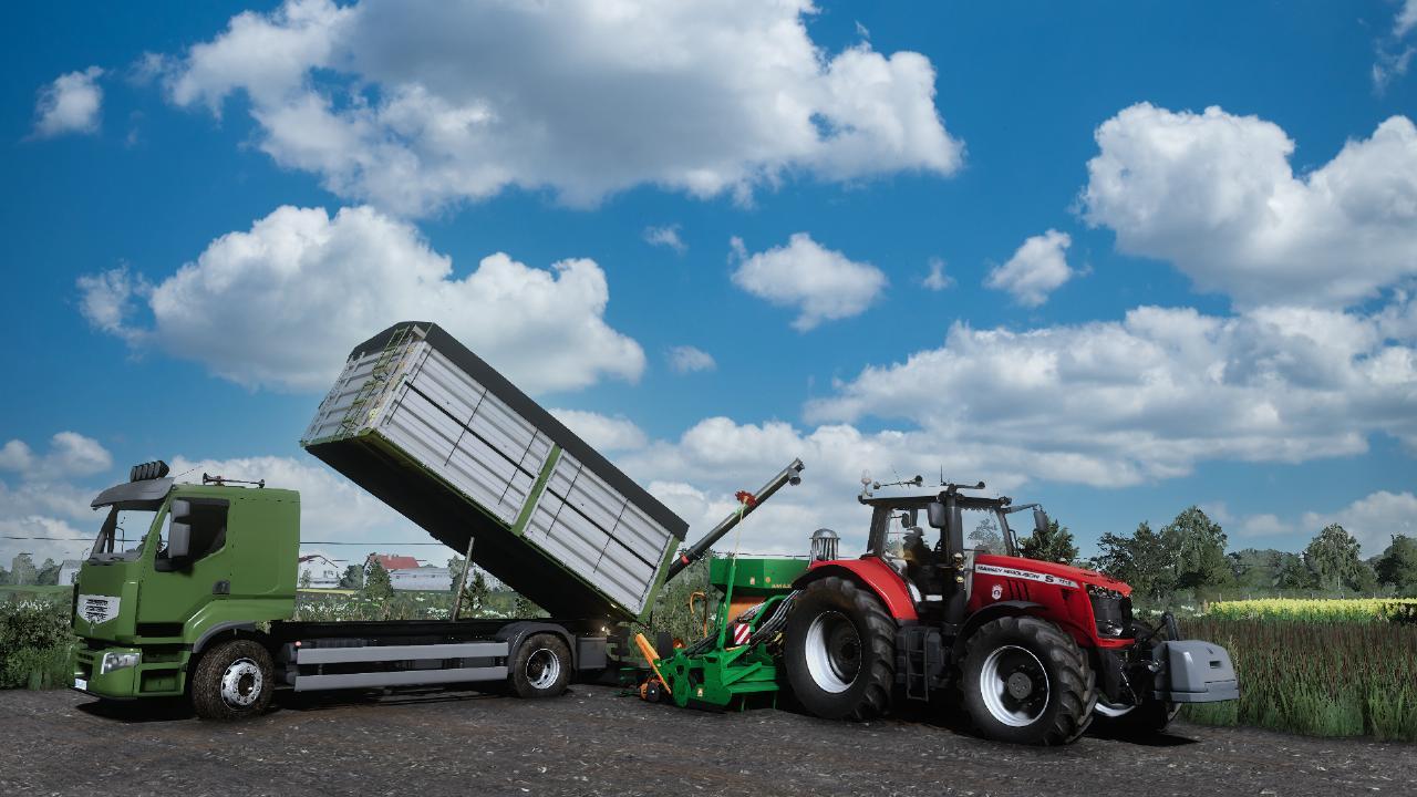 LS19 Renault Premium Grain/Überlader