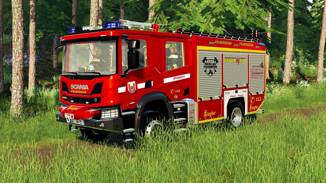 SCANIA P410 X HLF