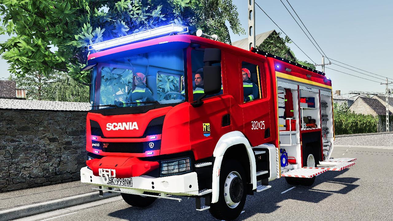 Scania P410 XT GCBA