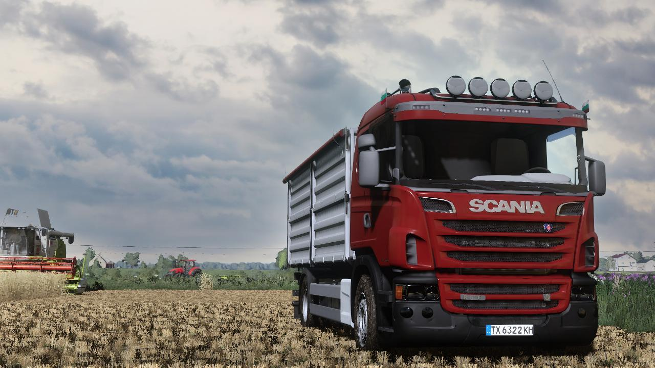 LS19-Scania R Getreide-/Überlader