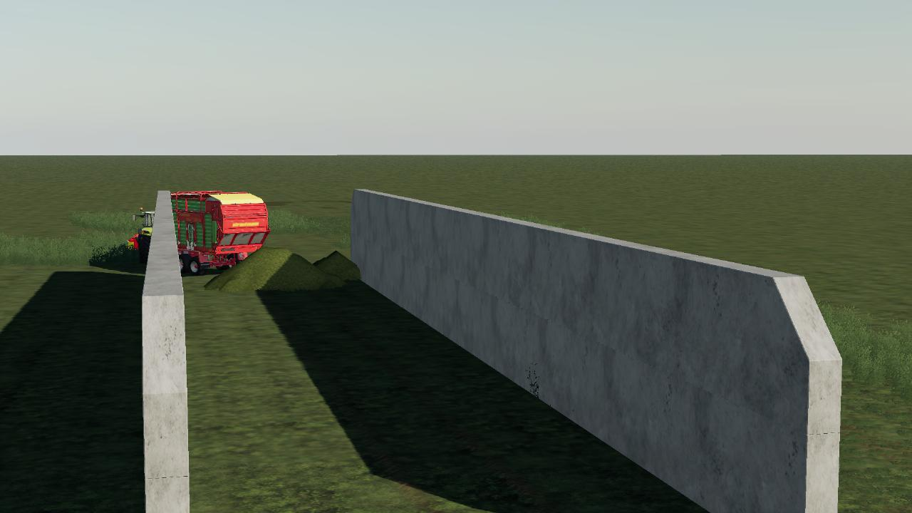 Silo for silage (i3D)