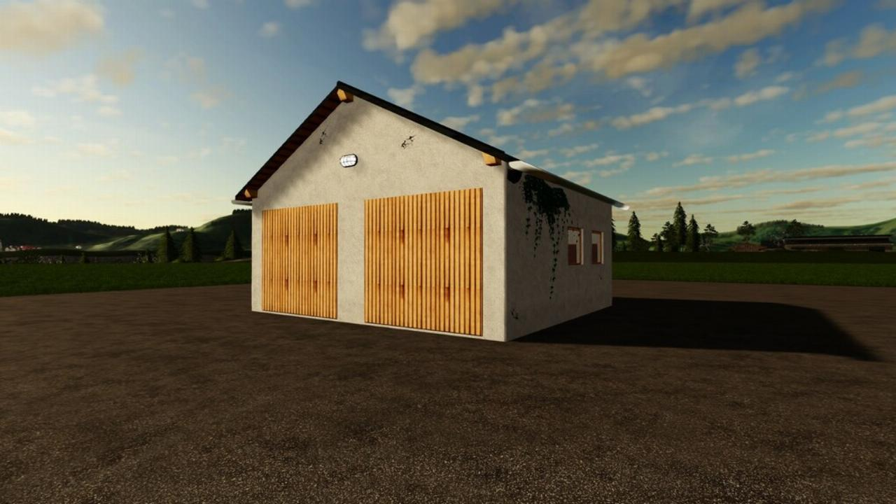 Small Double Garage