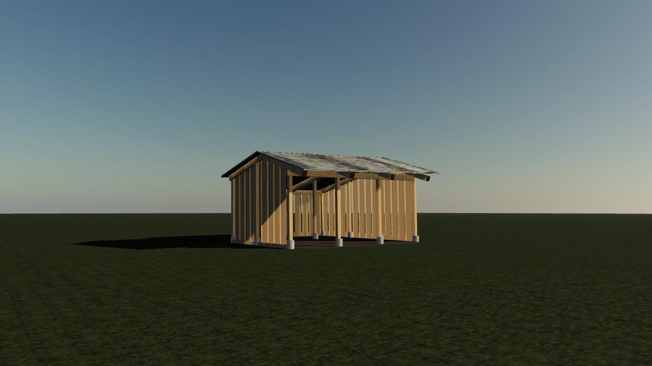 Small shed (i3D)