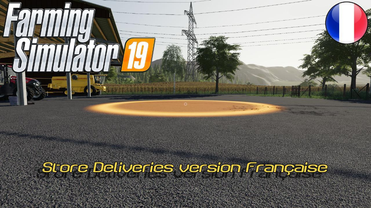 Store Deliveries version Française