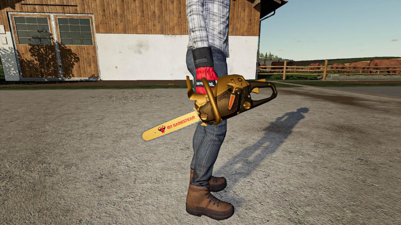 The Golden Chainsaw