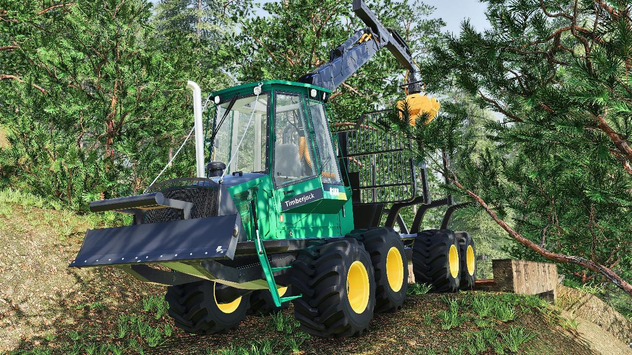 Timberjack 810 b forwarder