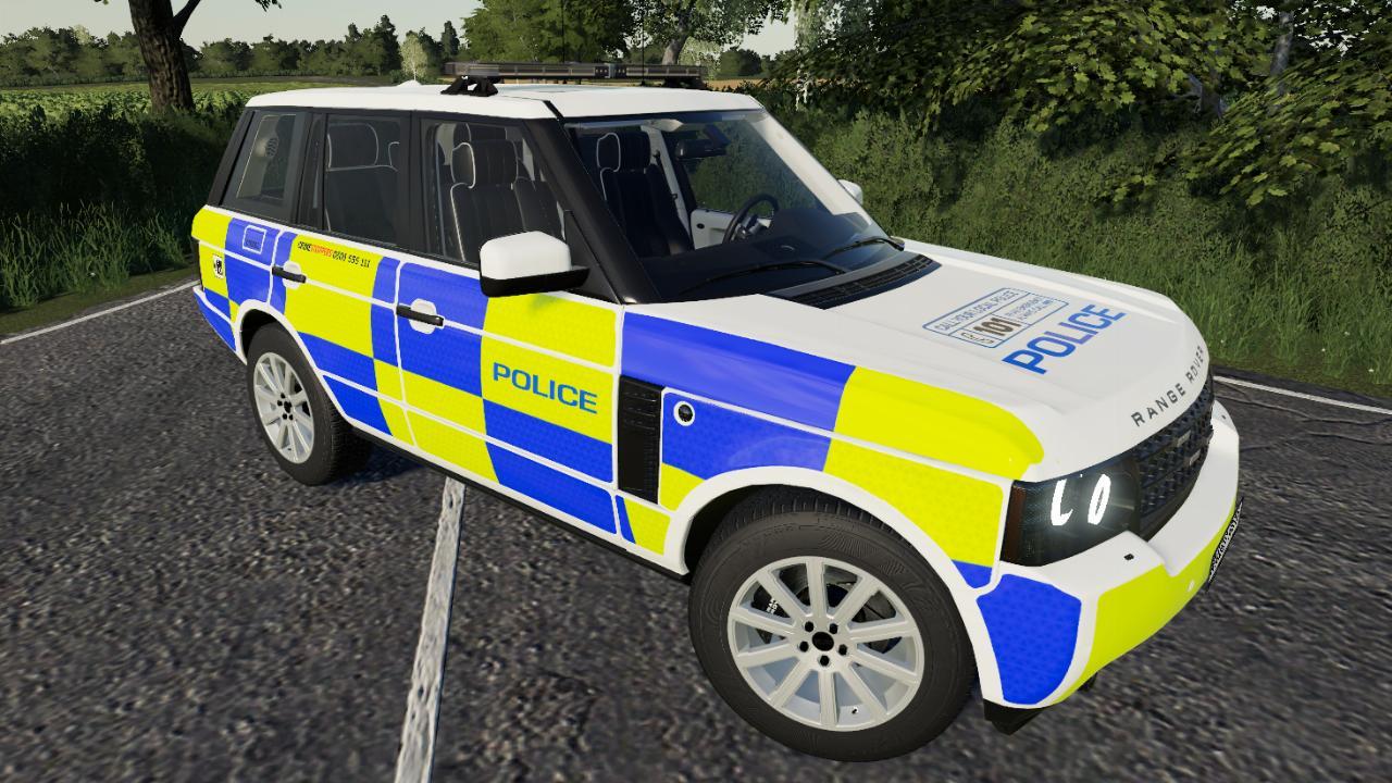 Range Rover der britischen Polizei