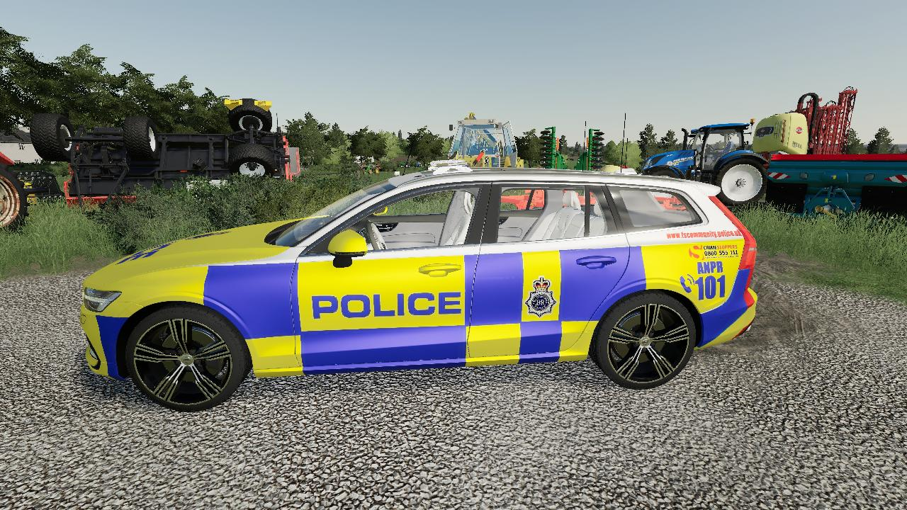 Volvo V60 UK Police Edit