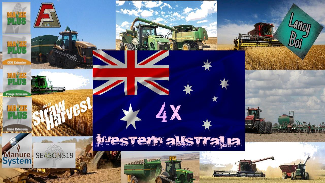 FS19 – Western Australia Map V2.0