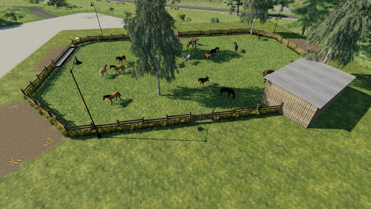 Big Horse Stable FS19