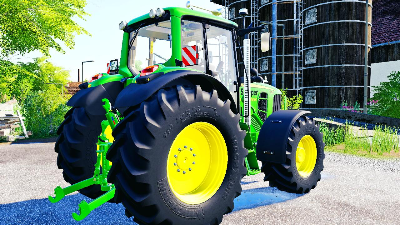 John Deere 7030 TirePresure FS19