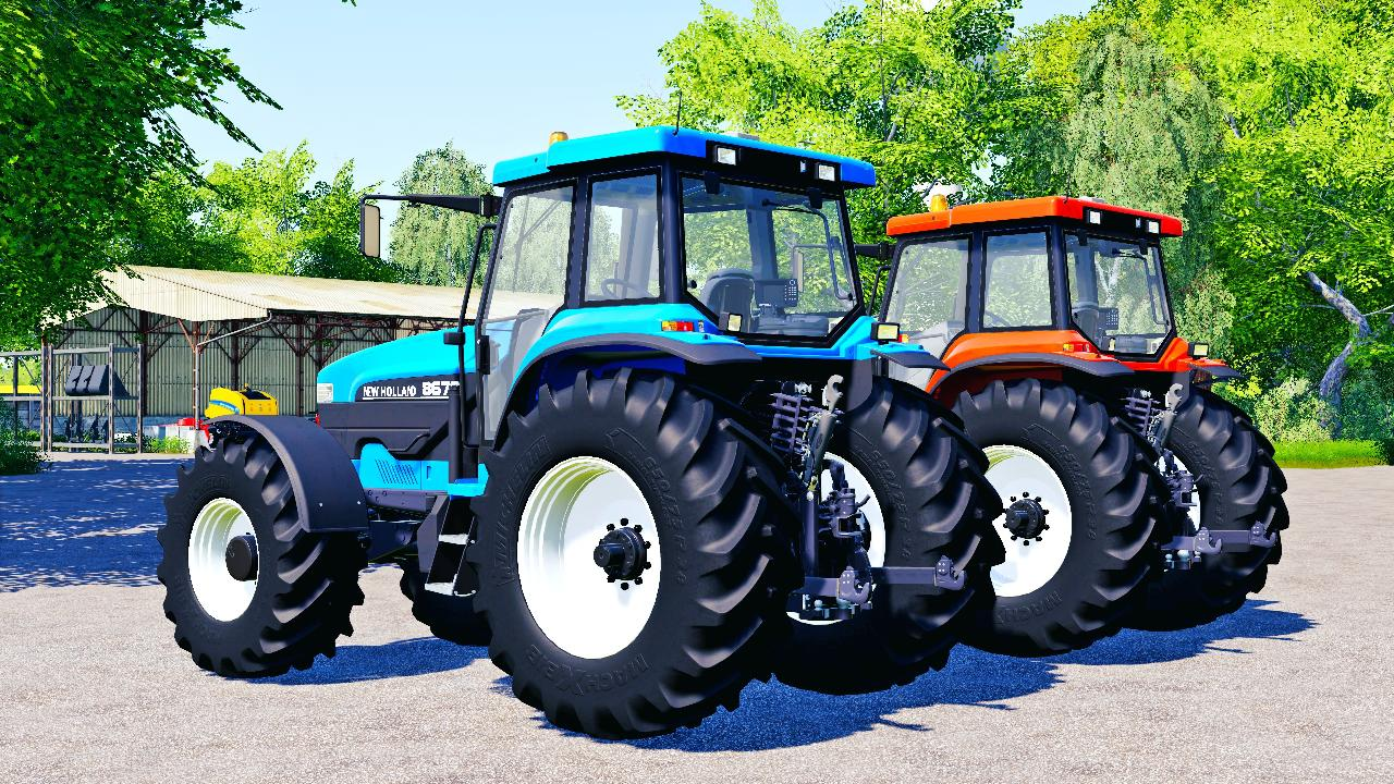 NEW HOLLAND 70 Series FS19