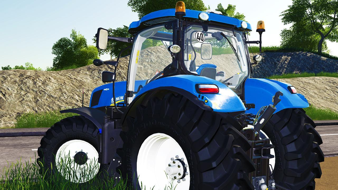 New Holland T7 FS19