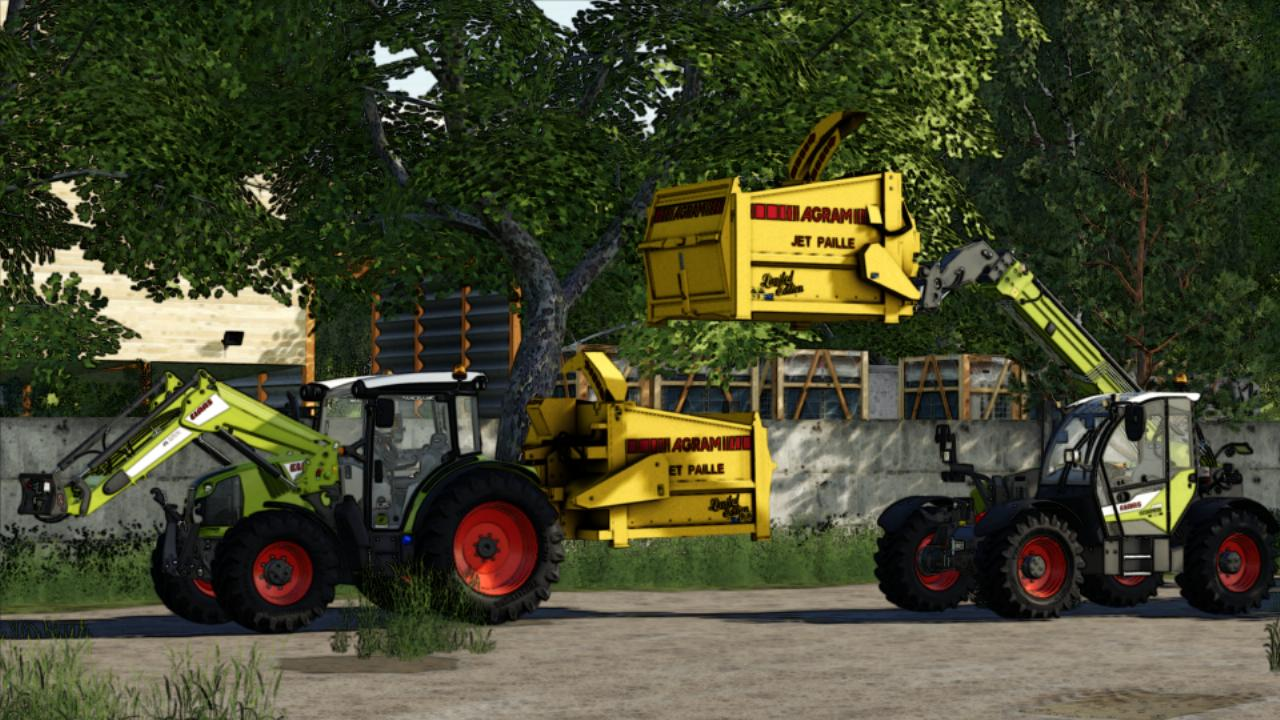 Pailleuse AGRAM JET PAILLE Yellow FS19