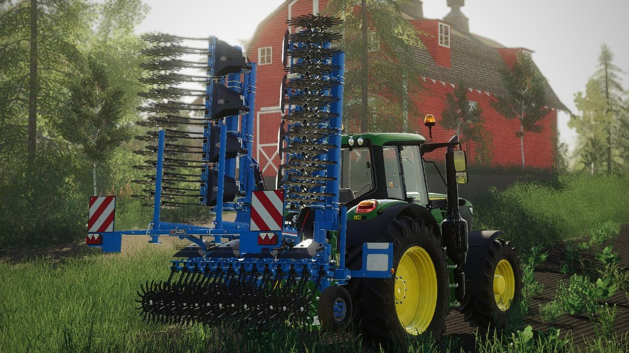 Rotanet Control Square Rotary Hoe FS19
