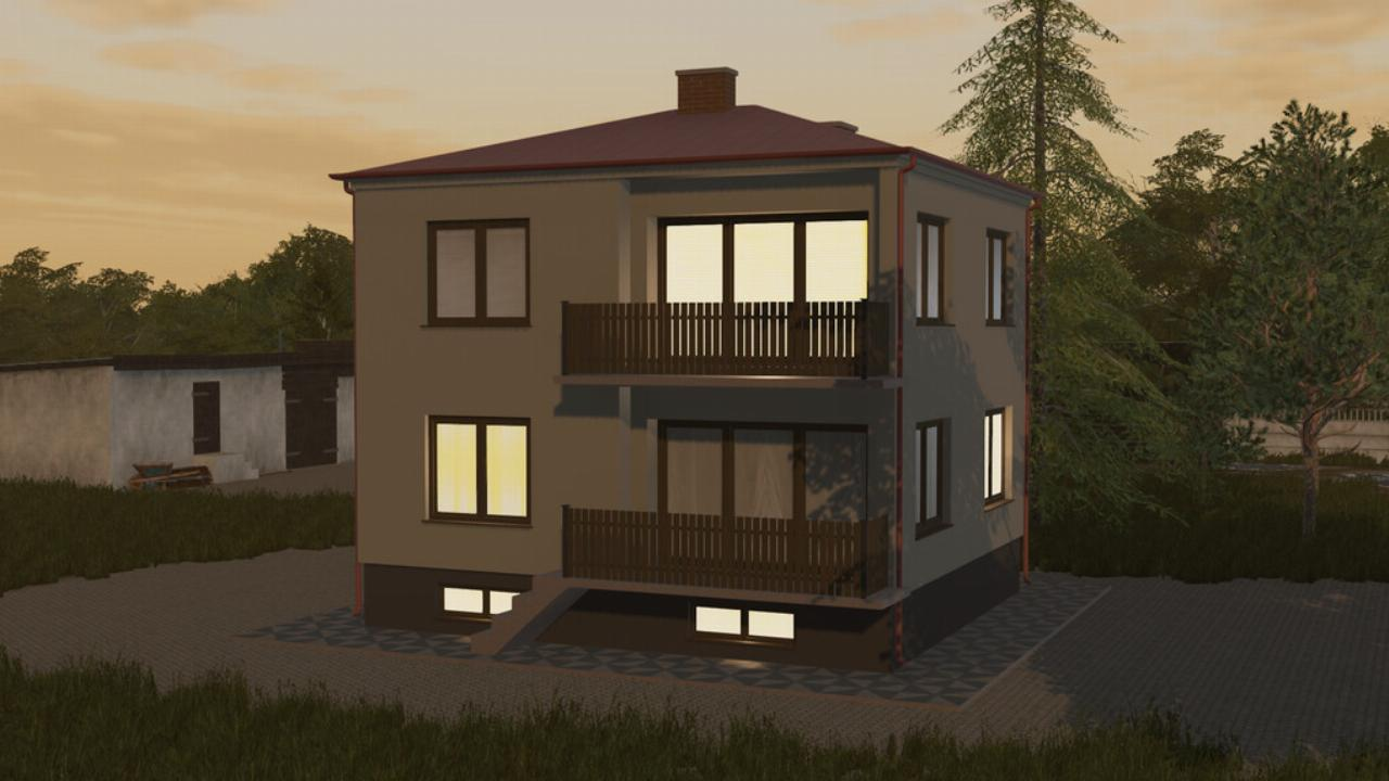 Square House FS19