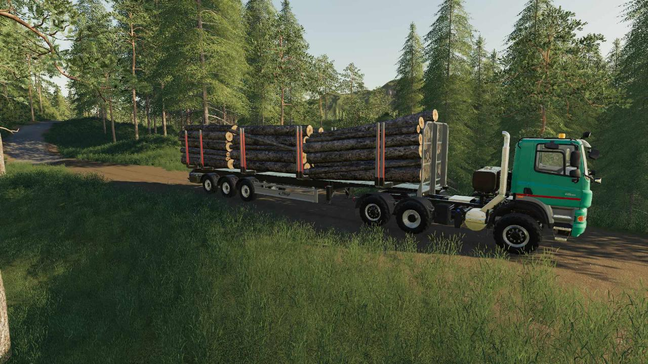 Timber Trailer Info FS19
