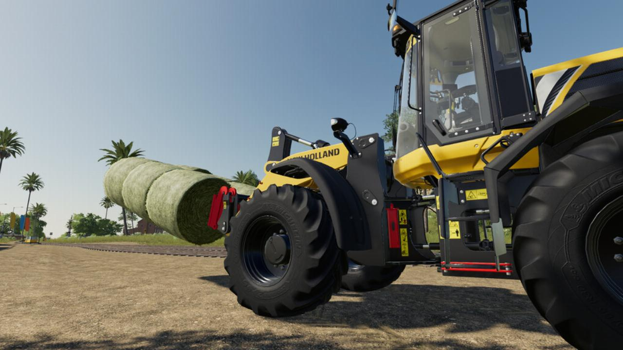 Long Forks Pack For Wheel Loader FS19