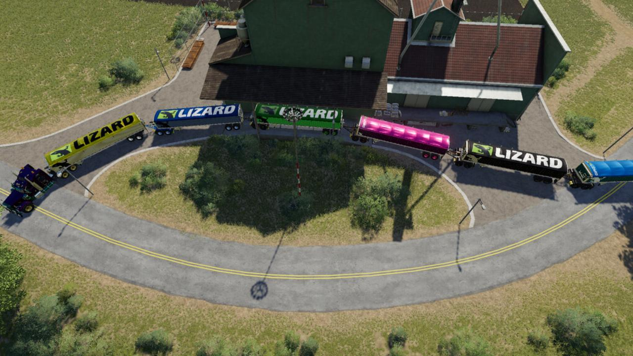 Lizard Underbelly Trailer FS19