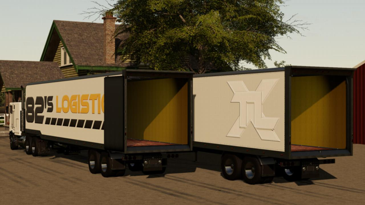 TLX 48ft Enclosed Trailer FS19