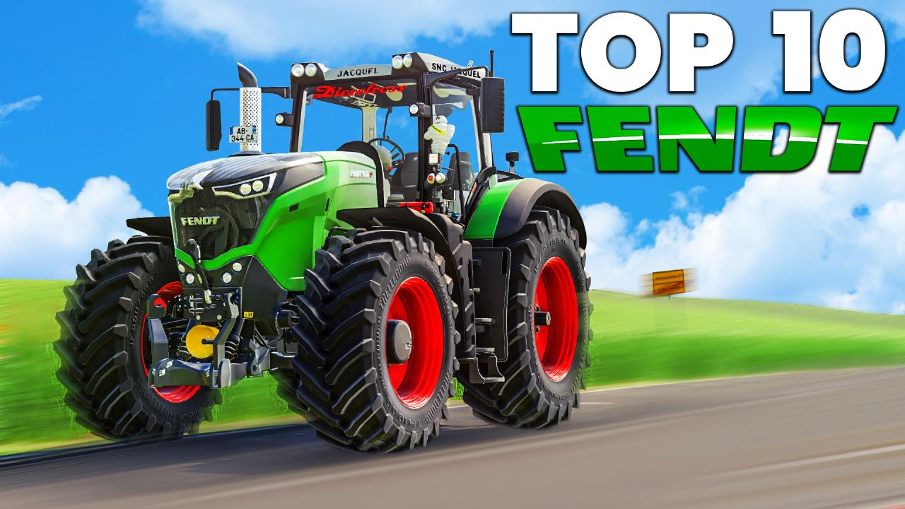 The 10 best FENDT tractors