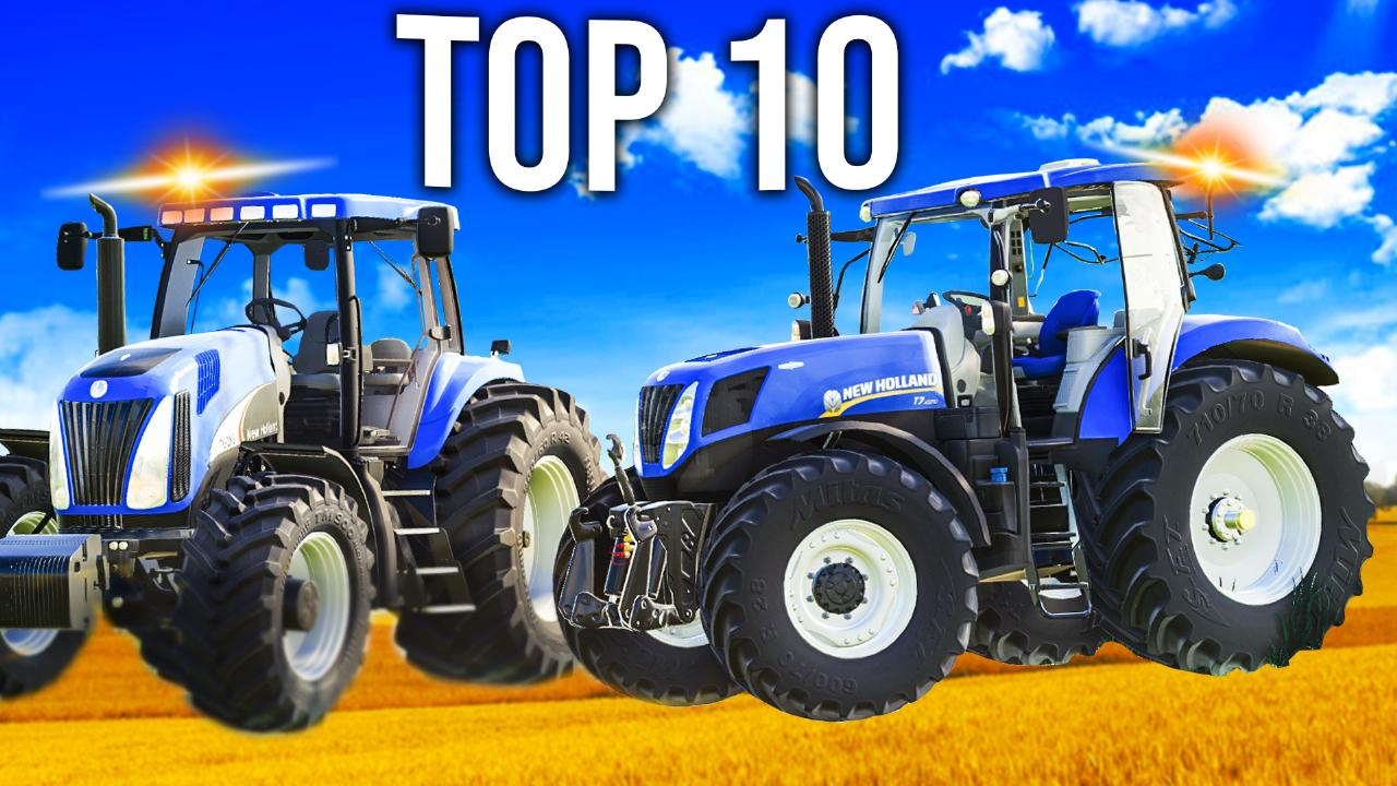 10 best New Holland tractors