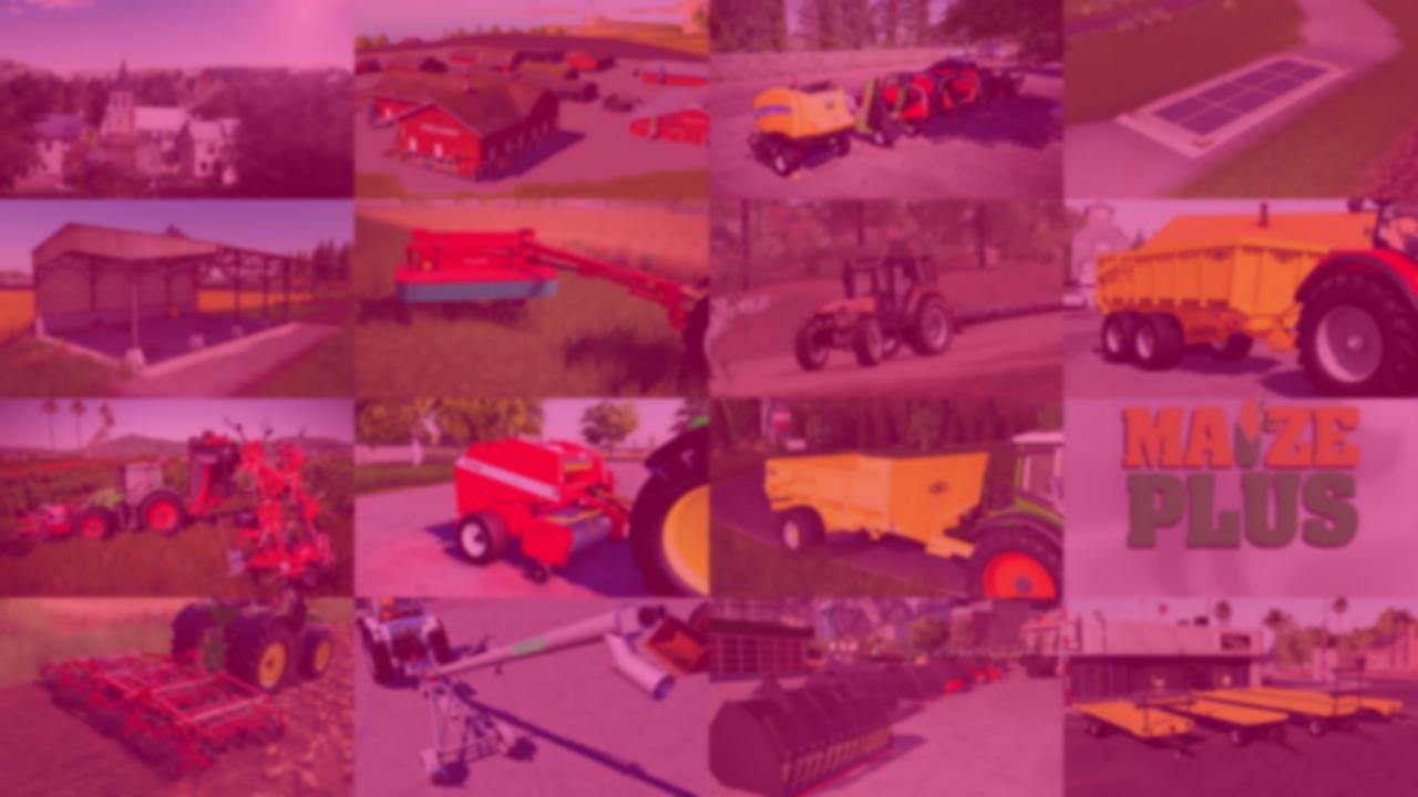 Farm with small equipment!