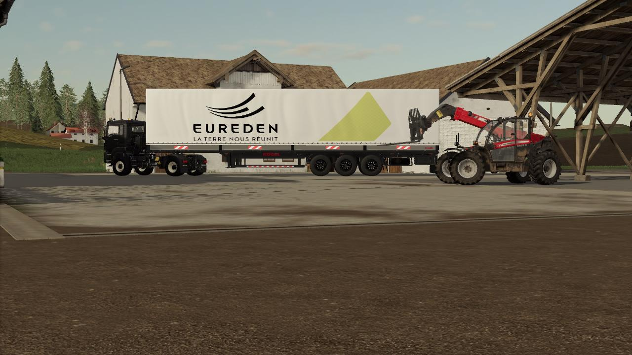 EUREDEN transport trailer