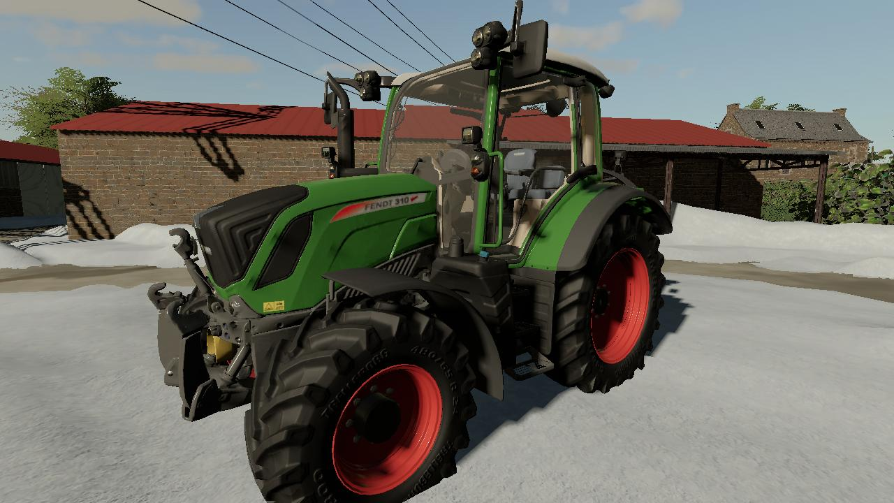 Exporting the basic Fendt from the game