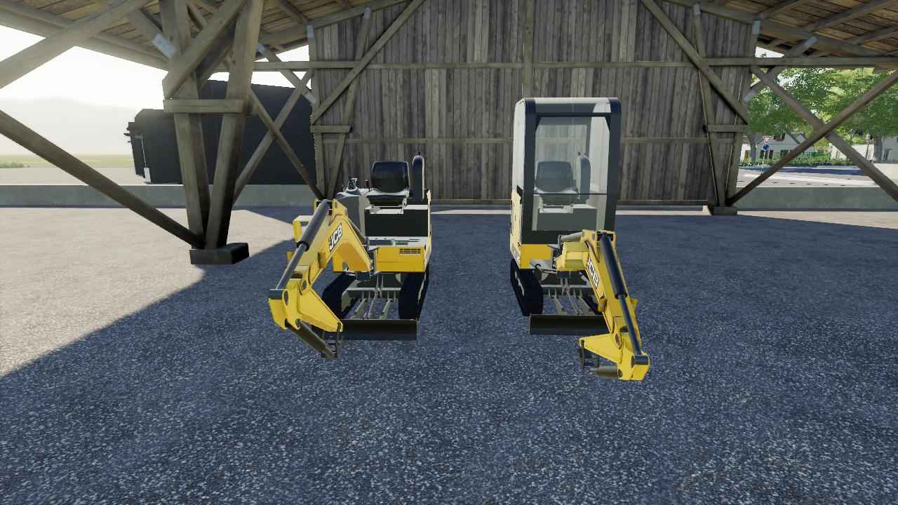 JCB Mini Excavator Pack