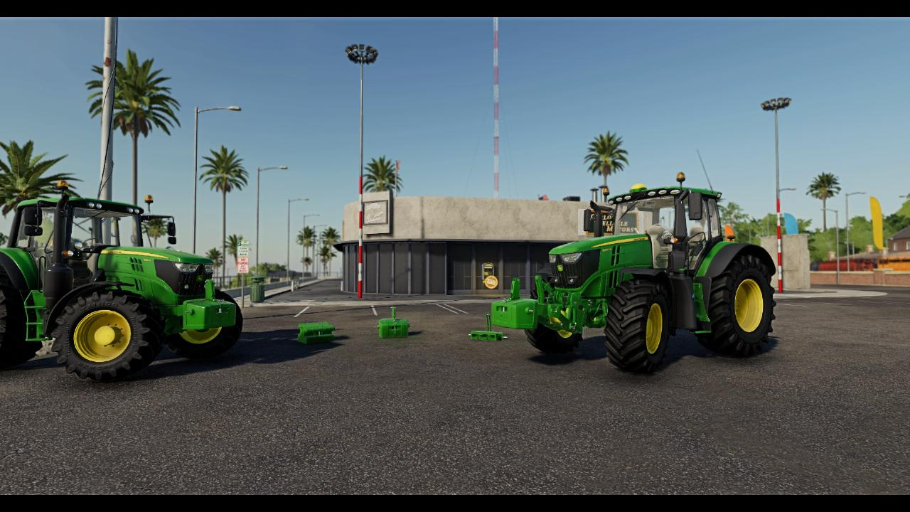 Reconversion masse John Deere